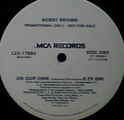 12'' - Bobby Brown - On Our Own - Promo