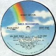 12'' - Bobby Brown - On Our Own
