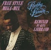 12'' - Bobby Brown - The Free Style Mega-Mix