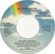 7inch Vinyl Single - Bobby Brown - My Prerogative