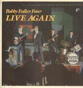 LP - Bobby Fuller Four - Live Again