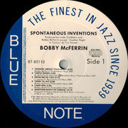LP - Bobby McFerrin - Spontaneous Inventions