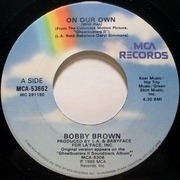 7'' - Bobby Brown - On Our Own