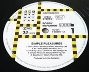 LP - Bobby McFerrin - Simple Pleasures
