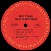 LP - Bob Dylan - Blood On The Tracks
