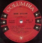 LP - Bob Dylan - Same - 180g mono