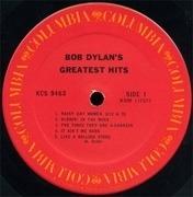 LP - Bob Dylan - Bob Dylan's Greatest Hits