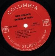 LP - Bob Dylan - Greatest Hits - 360 Sound Stereo Labels