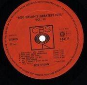 LP - Bob Dylan - Greatest Hits Vol. III - 1st press NL