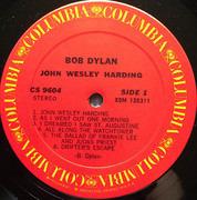 LP - Bob Dylan - John Wesley Harding