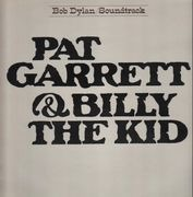LP - Bob Dylan - Pat Garrett & Billy The Kid - RED CBS LABELS