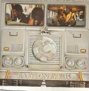 Double LP - Bob Marley & The Wailers - Babylon By Bus - die cut sleeve