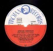 LP - Bob Marley & The Wailers - African Herbsman