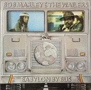 Double LP - Bob Marley & The Wailers - Babylon By Bus - die cut cover