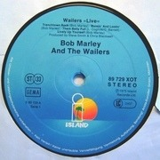 LP - Bob Marley & The Wailers - Live! - US sleeve