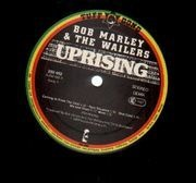 LP - Bob Marley & The Wailers - Uprising - Smaon Cover