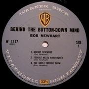 LP - Bob Newhart - Behind The Button-Down Mind Of Bob Newhart