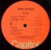 LP - Bob Seger - Seven