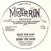 7inch Vinyl Single - Bomb The Bass - Beat Dis