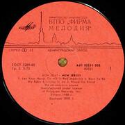 LP - Bon Jovi - New Jersey - Red Label