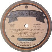 LP - Bon Jovi - New Jersey