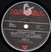 LP - Boney M. - Nightflight To Venus - w/ POSTCARDS
