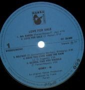 LP - Boney M. - Love For Sale - NO POSTER