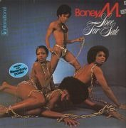 LP - Boney M. - Love For Sale - POSTER