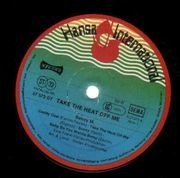 LP - Boney M. - Take The Heat Off Me - +Poster