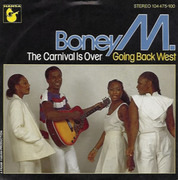 7'' - Boney M. - The Carnival Is Over / Going Back West