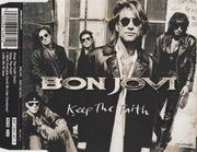 CD Single - Bon Jovi - Keep The Faith