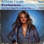 7'' - Bonnie Tyler - It's A Heartache / Got So Use To Loving You