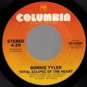 7inch Vinyl Single - Bonnie Tyler - Total Eclipse Of The Heart / Straight From The Heart