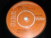 7'' - Bonnie Tyler - Lost In France - Knock-Out Centre