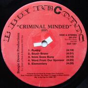 LP - Boogie Down Productions - Criminal Minded