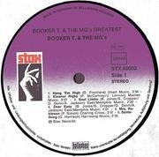 LP - Booker T. & The MG's - Greatest Hits