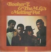 LP - Booker T. And the M.G.'s - Melting Pot - YELLOW STAX