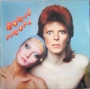 LP - David Bowie - Pinups - US PRESS