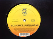 12inch Vinyl Single - Box Office - Just Leave Me