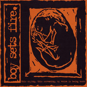 CD - Boysetsfire - This Crying, This Screaming, My Voice Is Being Born.