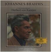 LP-Box - Brahms (Karajan) - Die 4 Symphonien, Violinkonzert, Haydn-Variationen, Ein Deutsches Requiem - Tulip rim / Cloth box + booklet
