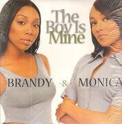 12inch Vinyl Single - Brandy & Monica - The Boy Is Mine