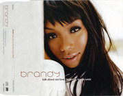 CD Single - Brandy - Talk About Our Love