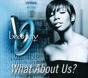 CD Single - brandy - what about us