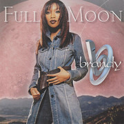 CD Single - Brandy - Full Moon - Cardboard Sleeve