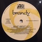 12inch Vinyl Single - Brandy - What About Us? (Felix Da Housecat Remixes)