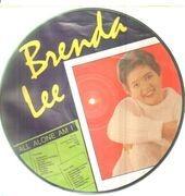 Picture LP - Brenda Lee - all alone am i