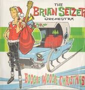 LP - Brian -Orchestra- Setzer - Boogie Woogie Christmas - WHITE VINYL, INCL. DOWNLOAD CARD