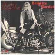 7inch Vinyl Single - Brigitte Bardot - Harley Davidson