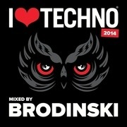 CD - Brodinski - I Love Techno 2014